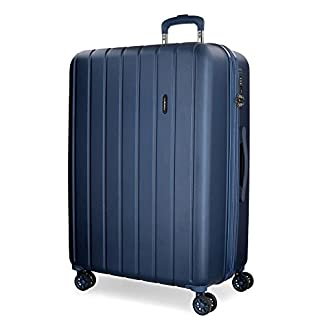 Movom Wood 5319264 Maleta, 65 cm, 68 Litros, Azul