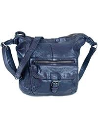 5fdc595bb6e55f Bear-Design Shopper Beuteltasche Schultertasche Anna CL32612 gewaschenes  Leder Vintage Used Look 30…