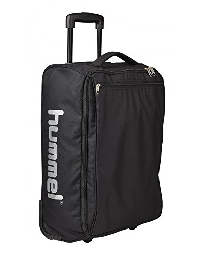 Hummel Trolley AUTHENTIC TEAM S, Black/Silver, 55 x 23 x 35 cm, 44 Liter, 40-964-2250