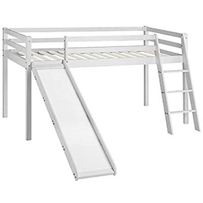 Cabin Bed Midsleeper Kids Bunk Bed with Slide produced by AGTC Ltd. - quick delivery from UK.