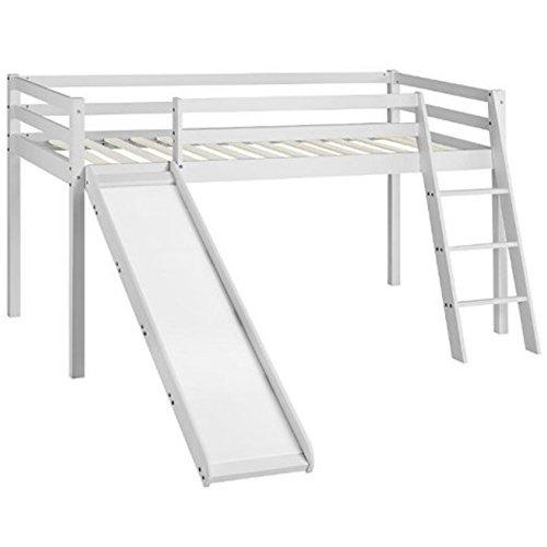 Cabin Bed Midsleeper Kids Bunk Bed with Slide