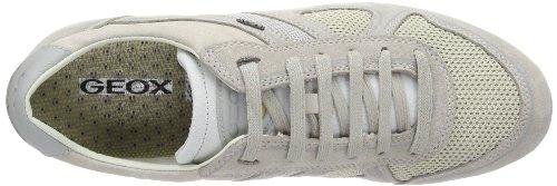 Geox U XITY A U42Z5A01122C1049 Herren Sneaker Grau (LT GREY/DOVE GREY C1049)