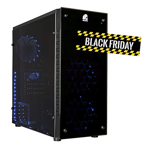 NITROPC - PC Gamer VX *BLACK FRIDAY* (CPU Quad-core 4 x 3,80Ghz, T. Gráfica R7 560 4GB GDDR5, Hdd 1TB, Ram 16GB, Windows 10 de 64 bits preliminar) + WIFI de regalo. pc gamer, pc gaming, pc para juegos, ordenador juegos
