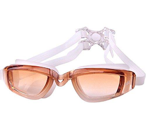 Schwimmen Schutzbrillen, Embryform Klare Schwimmen Schutzbrillen Keine Leaking Anti Fog UV Schutz Triathlon Schwimmbrille mit freiem Schutz Fall für Erwachsene Männer Frauen Jugend Kinder Kind, YG14N5