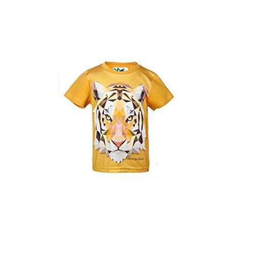 Blueberry London Boys Mädchen T-Shirts Verschiedene Tie - Bengal Tiger 4-5 years - London Tiger