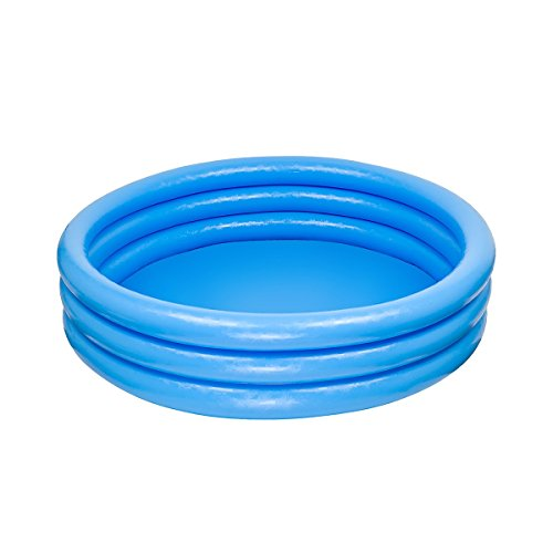 Intex Kinderpool 3-Ring-Pool Crystal 59416NP, Blau, Ø 114 x 25 cm