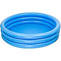 Intex 59416NP Crystal Blue Three Ring Inflatable Paddling Pool 1.14m x 25cm