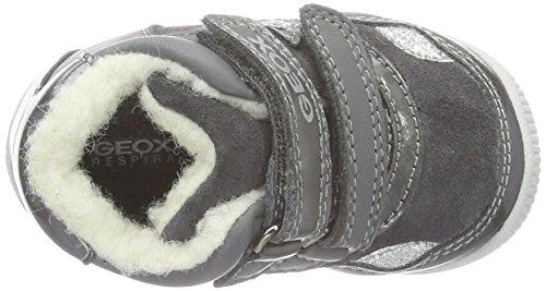 Geox B New Balu' D, Chaussures Marche Bébé Fille Grau (DK GREYC9002)