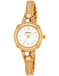 Rabela Women's Analogue White Dial Watch RAB-828
