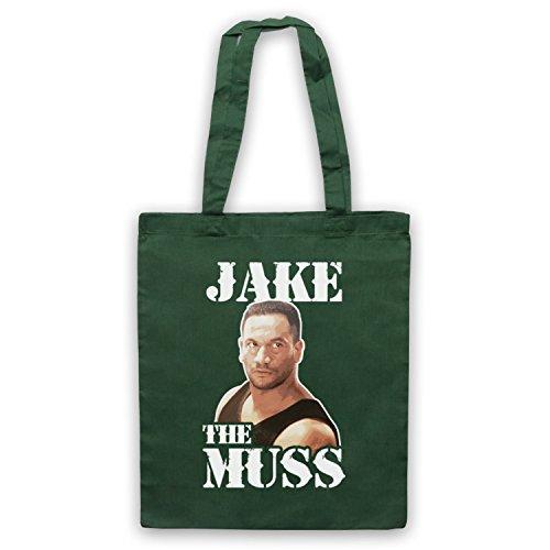 Inspiriert durch Once Were Warriors Jake The Muss Inoffiziell Umhangetaschen Dunkelgrun