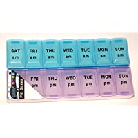 7 Day AM PM Pill Tablet Box Dispenser Holder Wallet Organizer High Quality preisvergleich bei billige-tabletten.eu