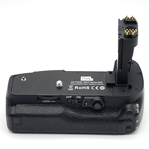 Vertax E20 : Pixel Vertax E20 Battery Grip for Canon EOS 5D Mark IV DSLR Camera Body Compatible With 2 Batteries of LP-E6/LP-E6N( Replacement for Canon BG-E20)  available at amazon for Rs.15298