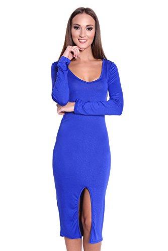 AE -  Vestito  - Maniche lunghe  - Donna Blu