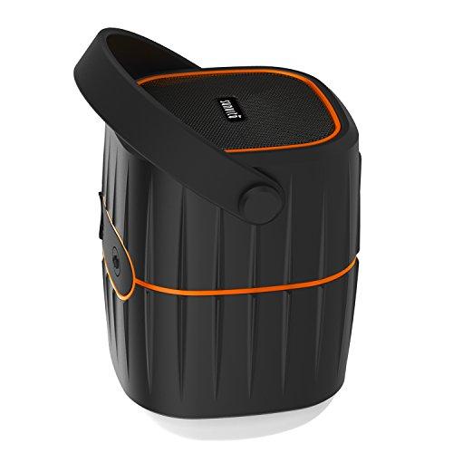 Preisvergleich Produktbild Sunvito 3 in 1 Camping Laterne 10400mAh Ladegerät Power Bank mit Bluetooth Lautsprecher V4.1, USB wiederaufladbare Zelt Lampe wasserdicht für Outdoor Cmaping, Wandern, Rucksack und vieles mehr