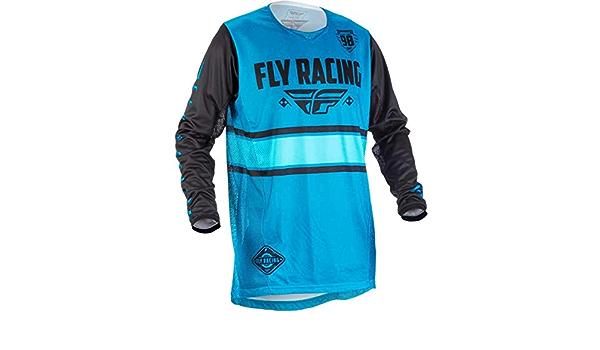 Fly Racing Jersey Kinetic Era Blau Gr M Sport Freizeit