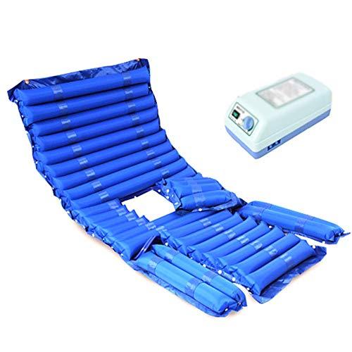 Top Voll Matratze (ZCPDP Aufblasbare Anti-Dekubitus-Matratze Wasserdichtes antibakterielles abnehmbares Faltloch mit vollem Funktionsumfang Medizinisches Bett Patientenbett Wundkissen)