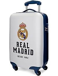 Real Madrid Lets Go Bagage cabine, 46 cm, 26 liters, Blanc (Blanco)