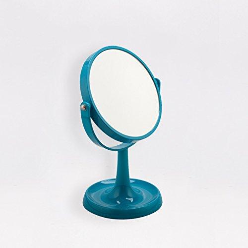Miroir Miroir de maquillage, Miroir de maquillage, Miroir de salle de bain ( Couleur : Bleu )