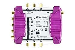 Opticum OMS 9/6p Line Multischalter (mit vergoldeten Kontakten) Gold