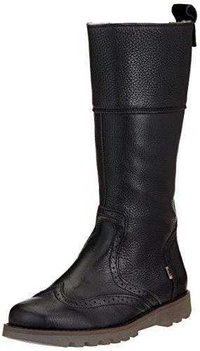 Bisgaard Mädchen 60301218 Hohe Stiefel, Schwarz (204 Black), 39 EU