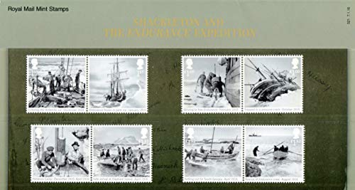2016 Shackleton and the Endurance Expedition Stamps in Presentation Pack PP494 (printed no. 521) - Royal Mail Stamps by Royal Mail -