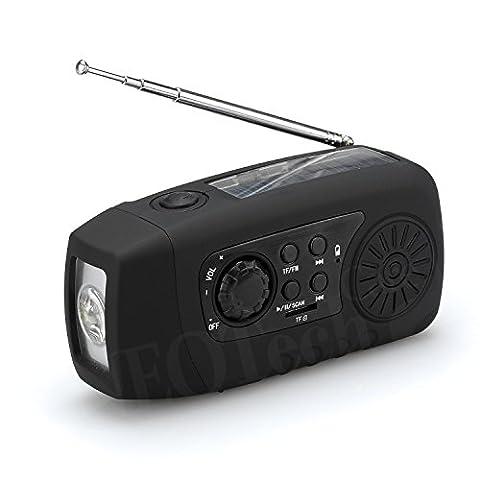 Radio Camping - Radio 6 fonctions : Lampe de poche