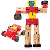 Tobar Wooden Transformbot