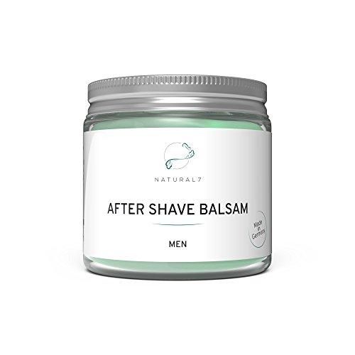 Natural7 After Shave Balsam Men - NEU - Die beste Methode gegen Pickel nach der Rasur (1x200ml)