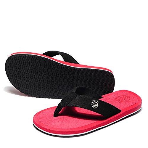 Chaussons anti-dérapant pour hommes/sandales à fond épais et pantoufles/sandales Thong E