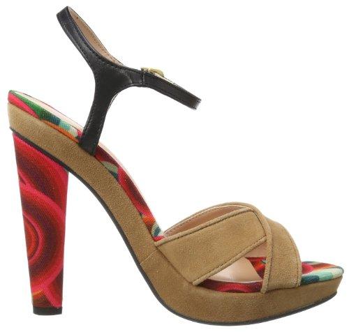 Sandalen Alto Desigual red Salto Sandália Rot fashion Sandalen Carnation 41ss2543036 De Damen 3 xSqxEwO0H