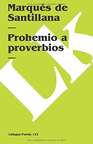 Prohemio A Proverbios Cover Image