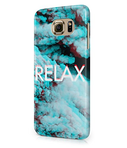 Relax Trippy Clouds Tumblr Acid High Sky Plastic Snap-On Case Cover Shell For Samsung Galaxy S6