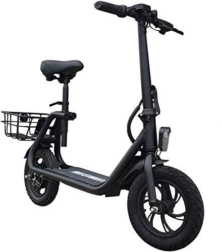 elrofu E-Scooter Power Seat 350W 8Ah 25 km/h Leistungstarker Elektroroller E-Roller Elektro Roller E Tretroller