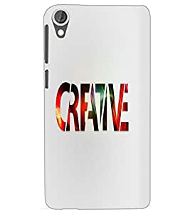 HTC DESIRE 820 CREATIVE Back Cover by PRINTSWAG