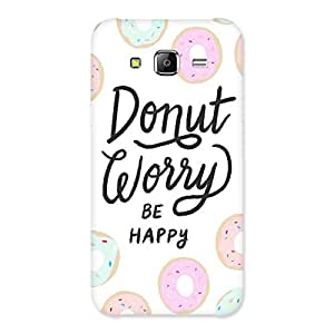 Neo World Premium Be Happy Back Case Cover for Samsung Galaxy J5