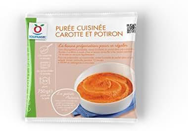 Toupargel Purée à Base de Carottes/de Potirons Cuisinée 750 g