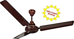 Candes Breath 1200mm Ceiling Fan 48 Inch Brown (100% Copper Winding Motor with 2 year warranty 5 Star Rating)