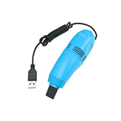 Kcopo Portable Tastatursauger Mini USB Staubsauger Tastatur Staubsauger Bürste Akkusauger Computer Reinigungsbürste Staub Reinigungs Set Für von Laptop und PC