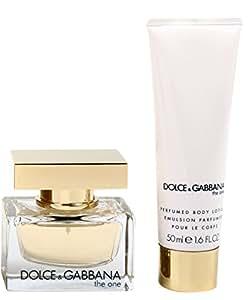 Dolce & Gabbana - The one - Coffret cadeau pour femme - Eau de Parfum 30 ml et Crème pour le corps 50ml