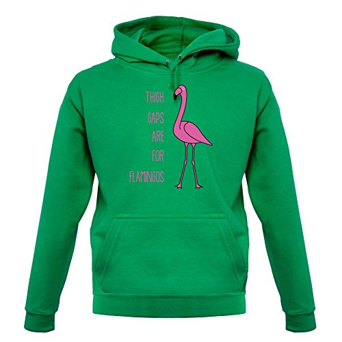 thigh-gaps-are-for-flamingos-unisex-sweat-pull-vert-clair-xs