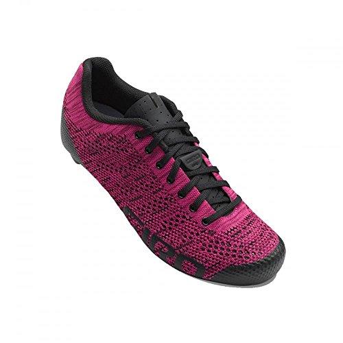 Giro Damen Empire E70 Knit Road Radsportschuhe - Rennrad, Mehrfarbig (Berry/Bright Pink 000), 41 EU