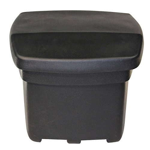 FCMP Outdoor SB140-BLK Outdoor Aufbewahrungskorb, schwarz