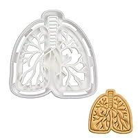 Anatomical Lungs Cookie Cutter, 1 Piece - Bakerlogy
