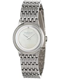 Pierre Cardin Classic Analog Diamond Accented Mother-Of-Pearl Reloj