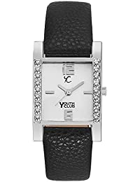 Youth Club New Sober Ultimate Black White Dial Analog Watch For Women-SQDM-BLK