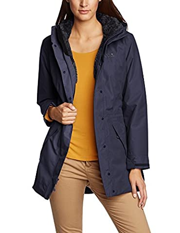Jack Wolfskin Damen Mantel 5th Avenue, night blue, L, 1105491-1010004