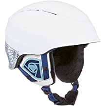 Roxy Mill Bury Snowboard/casco de esquí, Otoño-invierno, mujer, color Blanco brillante, tamaño large