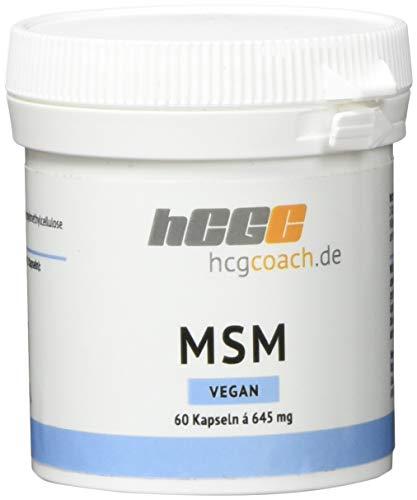 hcgcoach.de MSM Kapseln (645 mg), 60 Stück