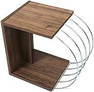وحدة خزانة للتلفاز لغرفة المعيشة العصرية مصنوعة في تركيا. (خشب الجوز ومعدن الكروم)