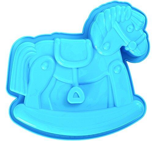 pavonidea frt171az3s Silikon Kuchen, Baby Dusche, 245x 235mm x 20, blau